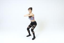 Yuka Ogura muscle gymnastics training wear fitness wear for women009