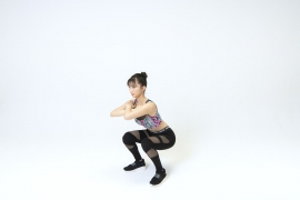 Yuka Ogura muscle gymnastics training wear fitness wear for women010