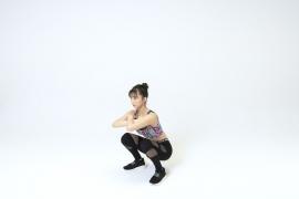Yuka Ogura muscle gymnastics training wear fitness wear for women011