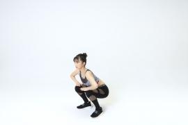 Yuka Ogura muscle gymnastics training wear fitness wear for women012