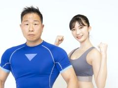 Yuka Ogura muscle gymnastics training wear fitness wear for women013