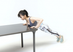 Yuka Ogura muscle gymnastics training wear fitness wear for women017