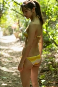 The leader of Baby Rays Erika Denyas cute and sexy swimsuit gravure image045