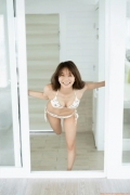 The leader of Baby Rays Erika Denyas cute and sexy swimsuit gravure image102