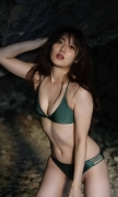 Kazusa Okuyama Swimsuit Bikini Gravure Best Body Vol2 2020005