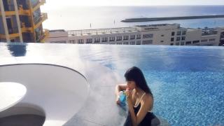 Arina Mitsuno Swimsuit Bikini Gravure Cinderella Girl 2020047