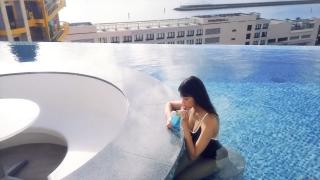 Arina Mitsuno Swimsuit Bikini Gravure Cinderella Girl 2020048