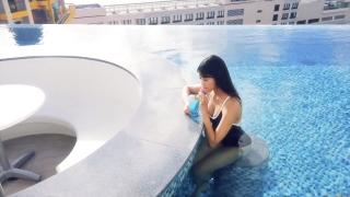 Arina Mitsuno Swimsuit Bikini Gravure Cinderella Girl 2020050