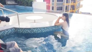 Arina Mitsuno Swimsuit Bikini Gravure Cinderella Girl 2020058