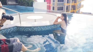 Arina Mitsuno Swimsuit Bikini Gravure Cinderella Girl 2020059