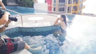 Arina Mitsuno Swimsuit Bikini Gravure Cinderella Girl 2020060