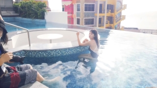 Arina Mitsuno Swimsuit Bikini Gravure Cinderella Girl 2020061