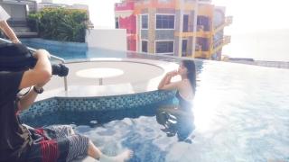 Arina Mitsuno Swimsuit Bikini Gravure Cinderella Girl 2020062