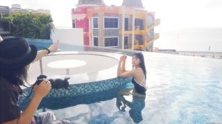 Arina Mitsuno Swimsuit Bikini Gravure Cinderella Girl 2020063