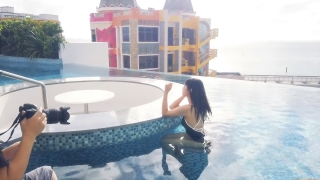 Arina Mitsuno Swimsuit Bikini Gravure Cinderella Girl 2020064