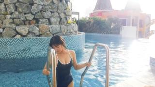 Arina Mitsuno Swimsuit Bikini Gravure Cinderella Girl 2020065