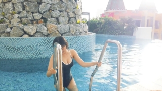 Arina Mitsuno Swimsuit Bikini Gravure Cinderella Girl 2020067
