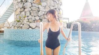 Arina Mitsuno Swimsuit Bikini Gravure Cinderella Girl 2020070