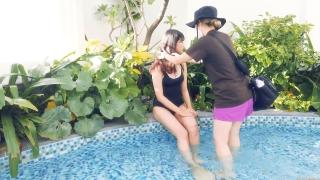 Arina Mitsuno Swimsuit Bikini Gravure Cinderella Girl 2020073