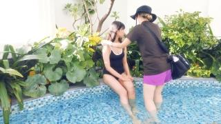 Arina Mitsuno Swimsuit Bikini Gravure Cinderella Girl 2020076