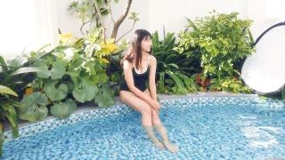 Arina Mitsuno Swimsuit Bikini Gravure Cinderella Girl 2020078