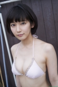 Sexy swimsuit gravure of Riho Yoshioka046
