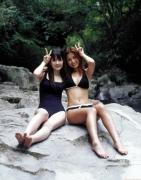 Rika Ishikawa Sayumi Michishige Gravure Swimsuit Images009