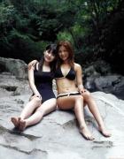 Rika Ishikawa Sayumi Michishige Gravure Swimsuit Images038