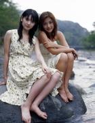 Rika Ishikawa Sayumi Michishige Gravure Swimsuit Images063