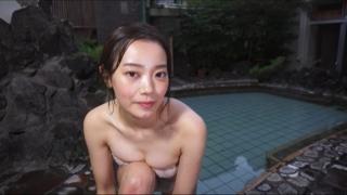 Aoshina Maki Swimsuit Bikini Gravure Miss Young Champion 2019 Grand Prix 035