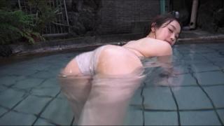 Aoshina Maki Swimsuit Bikini Gravure Miss Young Champion 2019 Grand Prix 036
