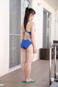 Hinako Tamaki Swimming Race Swimsuit Images Pool Play Arena006