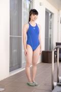 Hinako Tamaki Swimming Race Swimsuit Images Pool Play Arena008