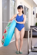 Hinako Tamaki Swimming Race Swimsuit Images Pool Play Arena009