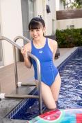 Hinako Tamaki Swimming Race Swimsuit Images Pool Play Arena019