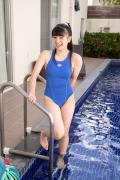 Hinako Tamaki Swimming Race Swimsuit Images Pool Play Arena016