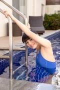 Hinako Tamaki Swimming Race Swimsuit Images Pool Play Arena020