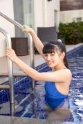Hinako Tamaki Swimming Race Swimsuit Images Pool Play Arena021