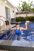 Hinako Tamaki Swimming Race Swimsuit Images Pool Play Arena022