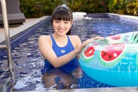 Hinako Tamaki Swimming Race Swimsuit Images Pool Play Arena024