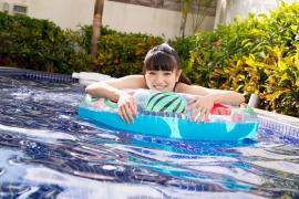 Hinako Tamaki Swimming Race Swimsuit Images Pool Play Arena037