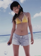 Morning Musume 8th generation leader Sayumi Michishige swimsuit gravure013