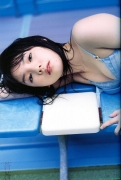 Morning Musume 8th generation leader Sayumi Michishige swimsuit gravure016