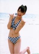 Morning Musume 8th generation leader Sayumi Michishige swimsuit gravure031