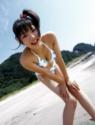 Morning Musume 8th generation leader Sayumi Michishige swimsuit gravure032