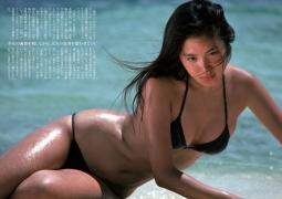 Atsuko Asano, I held her in my bikini002