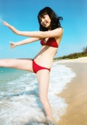 Sayumi Michishige sexy red bikini picture003