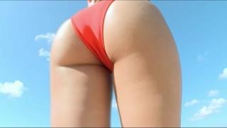 Moka Sasaki swimsuit bikini gravure Moechan EXPO 2020013