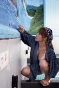 Rina Hashimoto swimsuit bikini gravure Hottest chest, scorching hot BODY 036