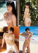 Mizuki Hoshina swimsuit bikini gravure Once again Heart Beats 006